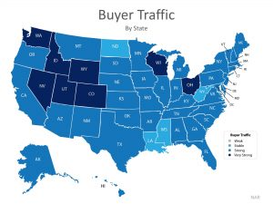 Buyers looking for homes